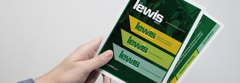Brand Refresh of the Lewis Group