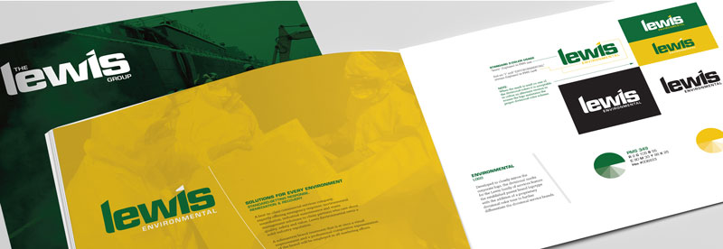 Corporate Identity Refresh of the Lewis Group, Royersford, PA