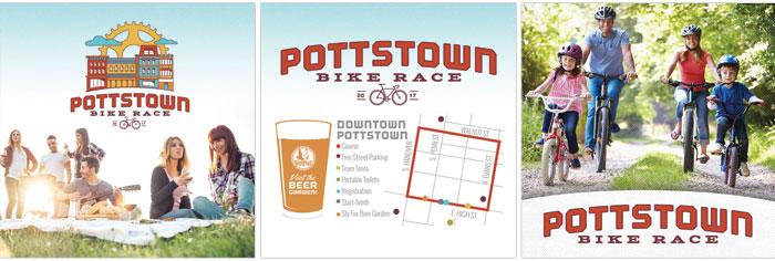 Pottstown Bike Race Social Media