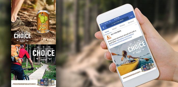 Sly Fox Beer Social Media