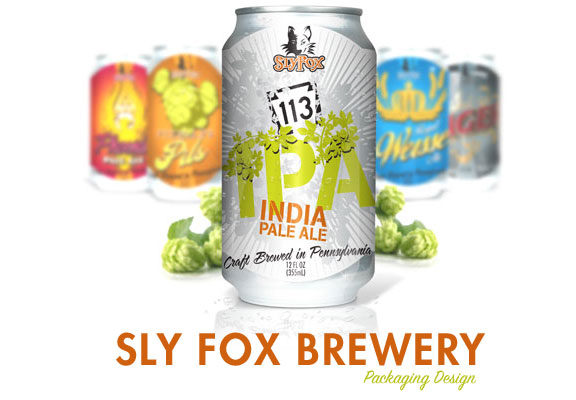 Sly Fox Beer 113 can Release
