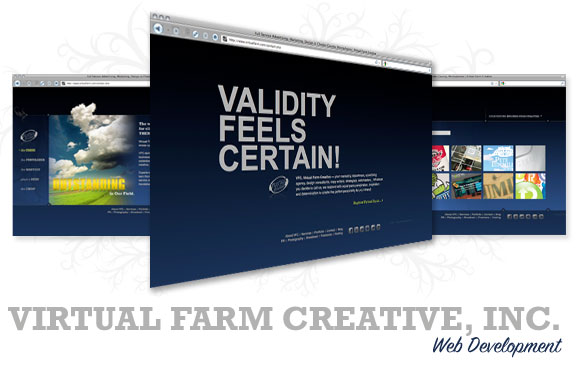 Virtual Farm Creative Web