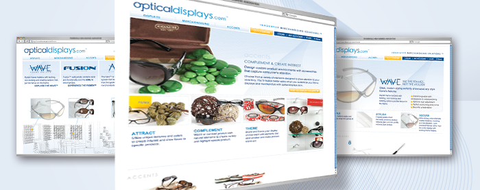 OpticalDisplays.com Website