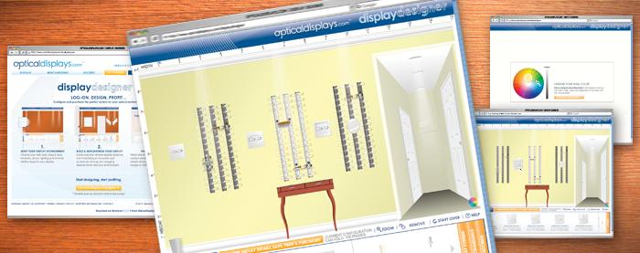 OpticalDisplays.com Display Designer