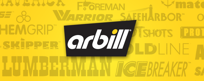 Arbill Safety Products Branding