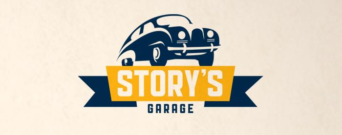 Story's Garage Branding
