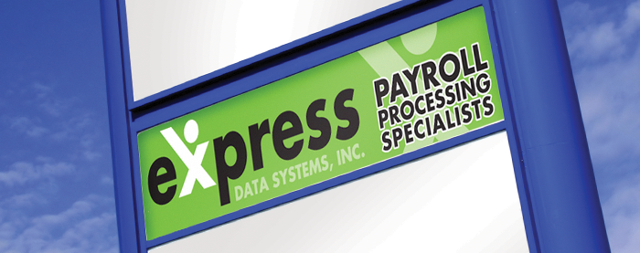 Express Data Systems Signage