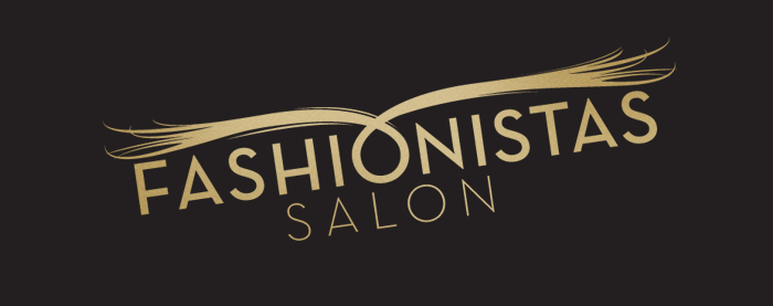 Fashoinistas Salon Branding