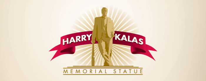Harry Kalas Statue Branding
