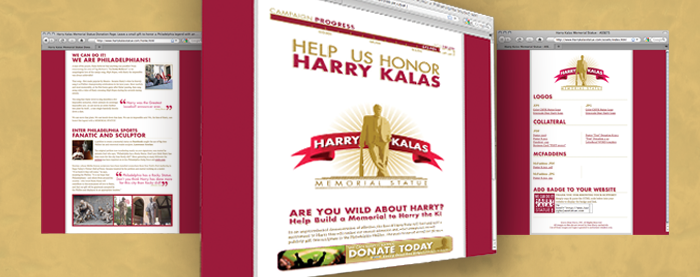 Harry Kalas Website