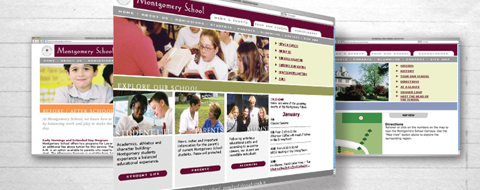 Montgomery School Website