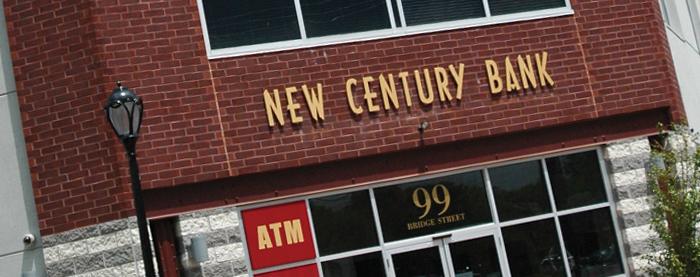 New Century Bank Signage