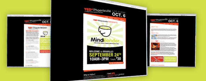 TEDx Phoenixville Website