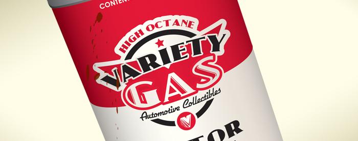 Variety Gas Branding