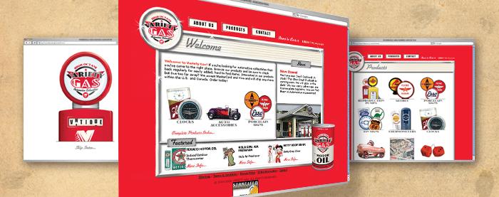 Variety Gas Website