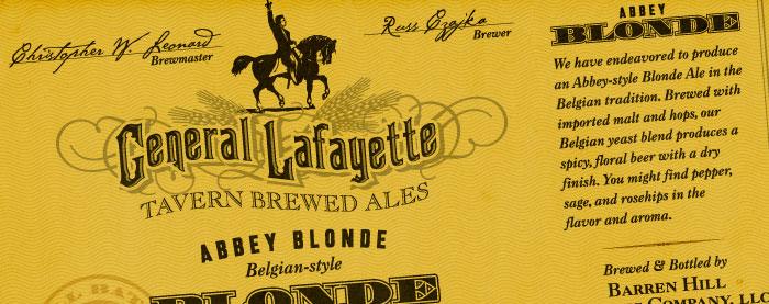 Beer Label Packaging Design
