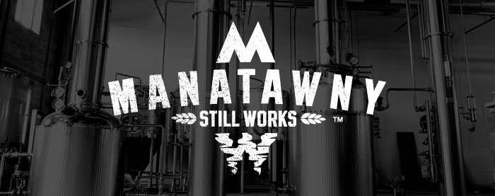 Manatawny Still Works Brand Logo Craft Distillery Branding
