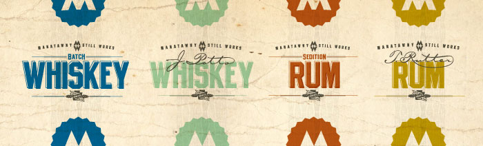 Distilling Company Packaging Labels