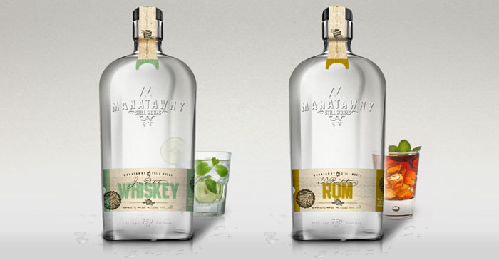 Manatawny Still Works Packaging Design