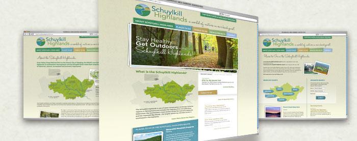Schuylkill Highlands Website