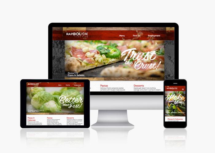 Fast Food Restaurant Website Development