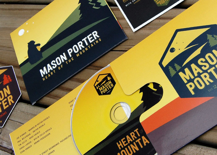 Mason Porter CD Media Packaging and Design