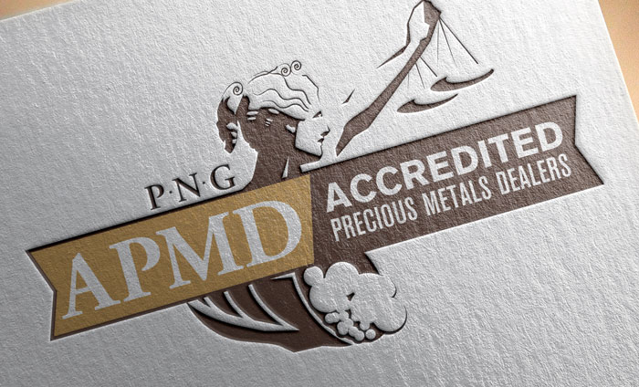 Accredited Precious Metals Dealers Branding, Logo and Identity