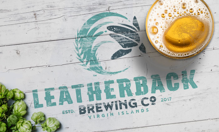 Leatherback Brewing Company Craft Brewery Branding Logo and Identity