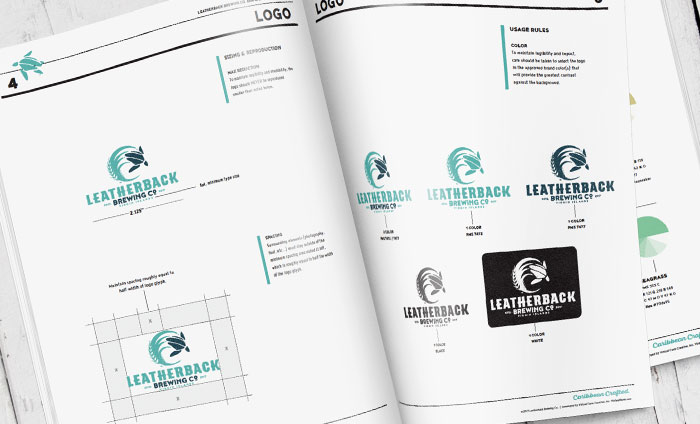 Leatherback Brewing Co. Independent Brewery Brand Standards