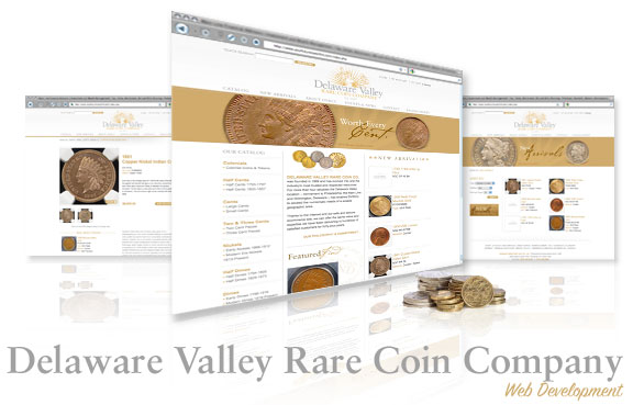 Delaware Valley Rare Coin Company Website