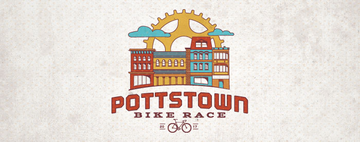 Pottstown Bike Race Logo and Identity Development