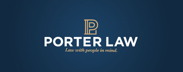 Porter Law Logo and Identity Development