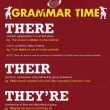 GRAMMAR TIME: There, Their, They're