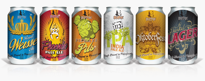 Sly Fox Beer Packaging