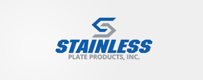 Stainless Plate Produts, Inc. Corporate Identity Logo