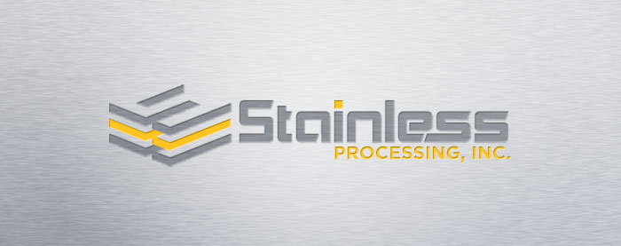 Stainless Processing, Inc. Corporate Identity Logo