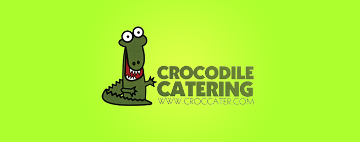 Crocodile Catering Logo