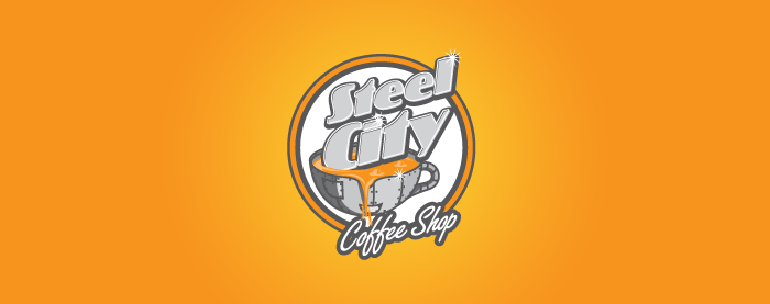 Steel City Coffee House Identity