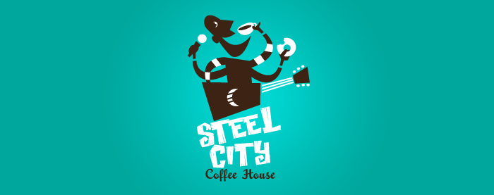 Steel City Coffee House Logo