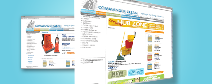 Commander Clean Website
