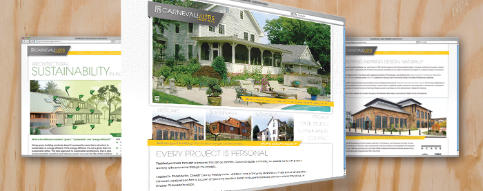 Carnevale Eustis Architects Website