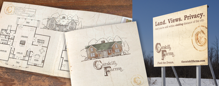 Catskill Farms Outdoor Advertising & Brochure