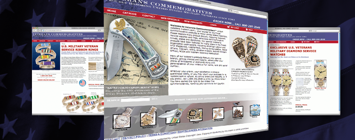 Veterans Commemoratives Website