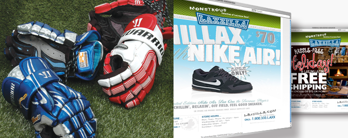 Lacrosse International Photography & Email Campaigns