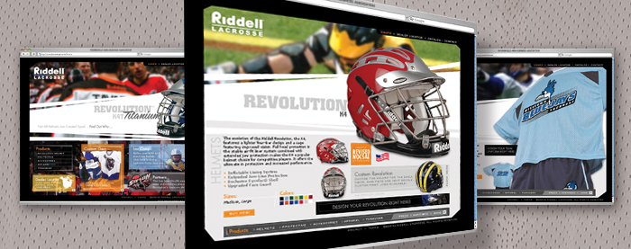 Riddell Lacrosse Website