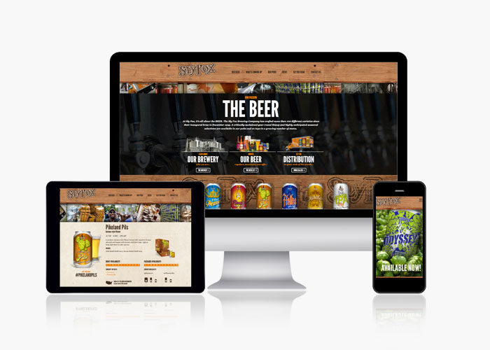 SlyFoxBeer.com Sly Fox Brewing Company Website Development