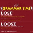 GRAMMAR TIME: Lose vs. Loose