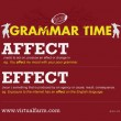 GRAMMAR TIME: Affect vs. Effect