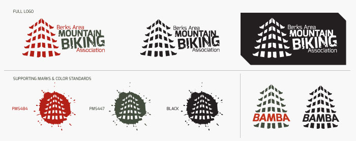 Berks Area Mountain Biking Association Brand Standards