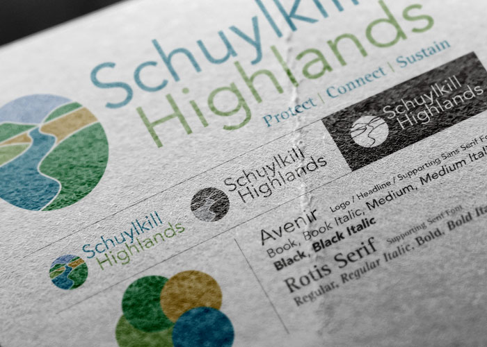 Schuylkill Highlands Identity Standards
